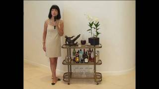 Diy Lauri Ward's Use What You Have Decorating Tips - Bar Carts