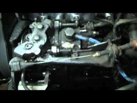 vw transporter t4 diesel fuel pump leak
