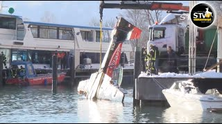 Kleinflugzeug stürzte in Wolfgangsee www.stv1.at