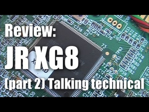 Review (part 2): JR XG8 RC system with DMSS and telemetry