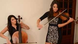 Calvin Harris Ft. Ellie Goulding - Outside (violin/cello Cover By Dollsdistortion)