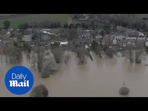 Storm Bella: Bedfordshire left with severe flooding after storm hit the UK