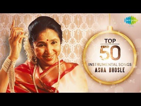 Top 50 song of Asha Bhosle | Instrumental HD Songs | One Stop Jukebox