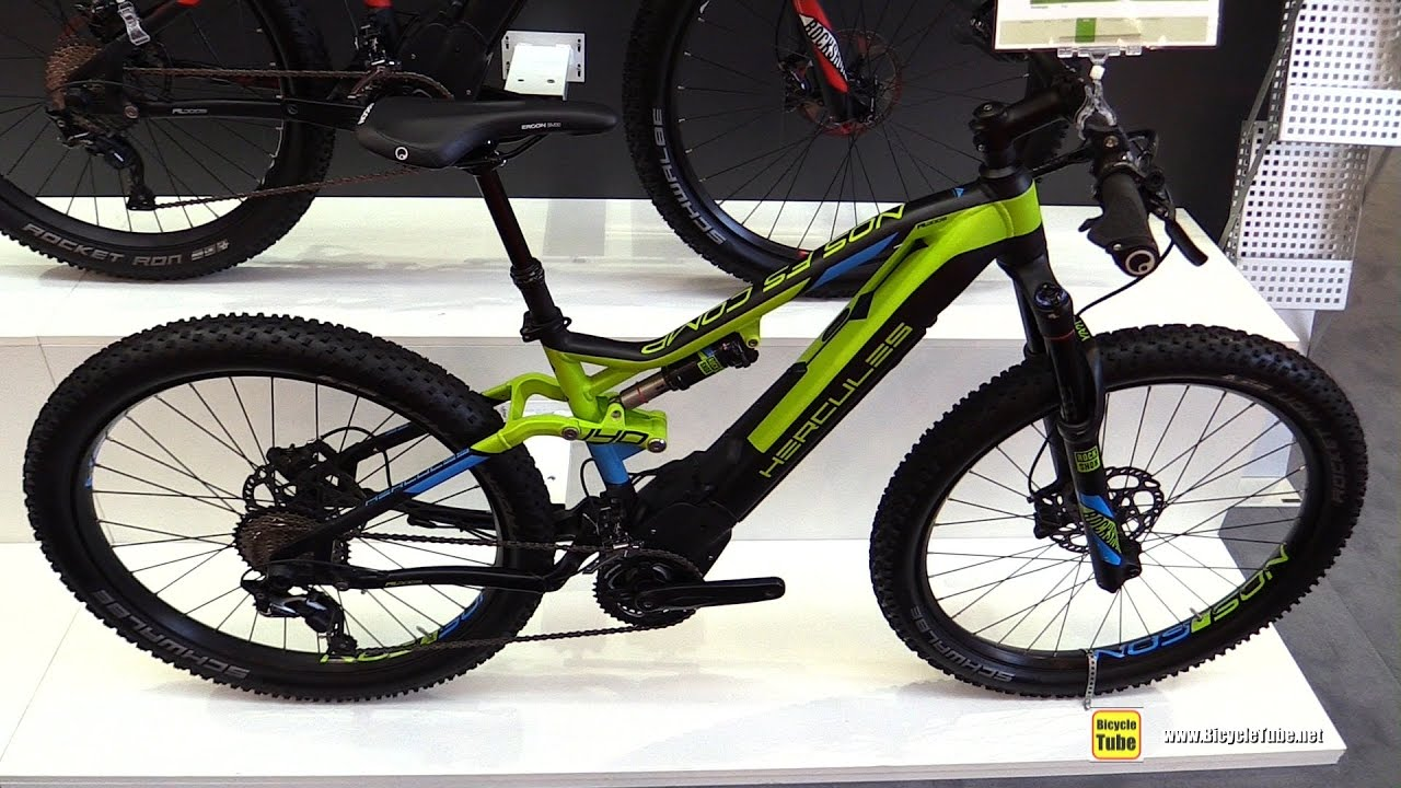 2017 hercules nos fs comp ebike walkaround 2016 eurobike youtube. Black Bedroom Furniture Sets. Home Design Ideas