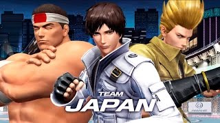 Team Japan | Complete Story Mode Walkthrough - The King of Fighters XIV [English, Full HD]
