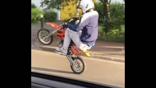 CROSS BITUME - BARODE EN KTM 50 SX