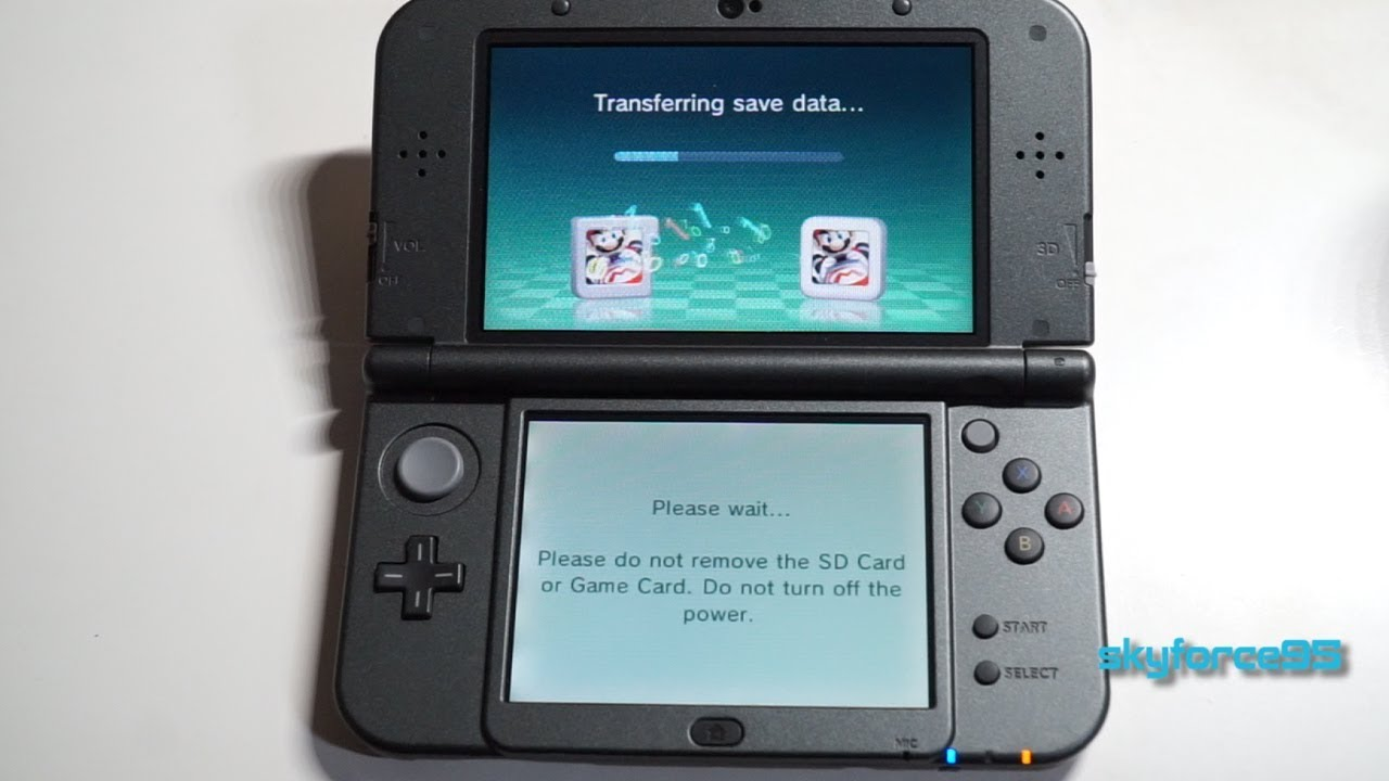 Nintendo 3ds Sd Karte.How To Transfer Data From 3ds Game Card To Eshop Downloaded Game
