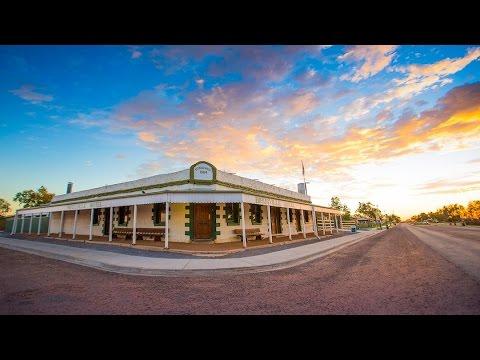 The Birdsville Hotel. Australia's most iconic outback pub.