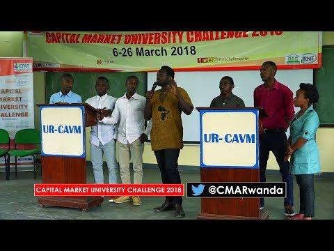 Capital Market University Challenge 2018 at UR Busogo - Musanze