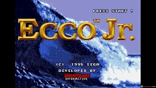 Ecco Jr. gameplay (PC Game, 1995)