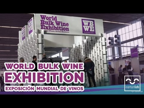 World Bulk Wine Exhibition. Feria del Vino en Amsterdam. Cartonlab