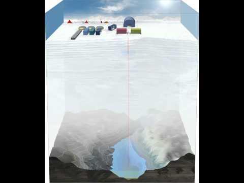 Antarctic Lake Ellsworth Ice Drill Animation [720p]