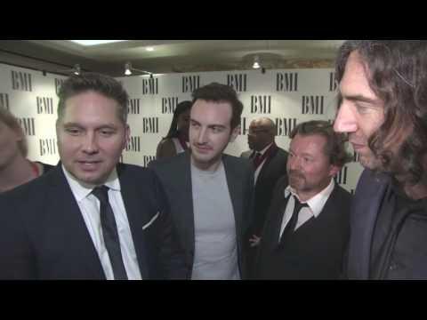 "Snow Patrol @ BMI Awards 2016 - ""Chasing Cars"""