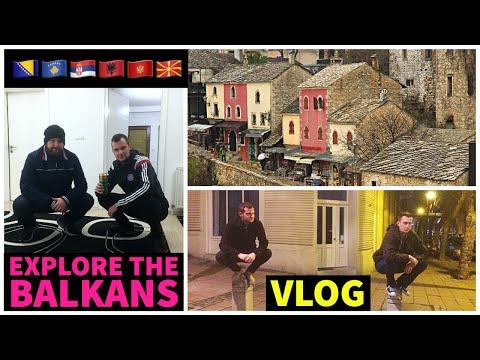 Balkans Part 2 - Bosnia, Montenegro, Albania, Kosovo, Macedonia