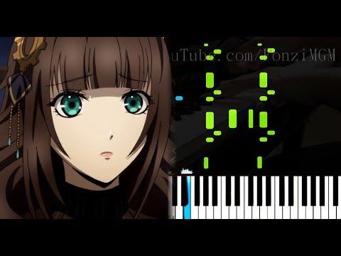 """[Code:Realize: Sousei No Himegimi OP] """"Kalmia"""" - Mia REGINA (Synthesia Piano Tutorial)"""