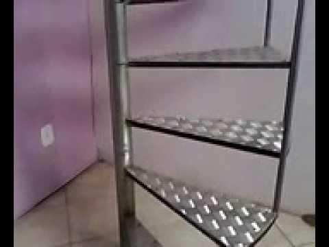 escada caracol OFICINA CJS SERRALHERIA TEL: (71) 8890-2696 / 9245-2419 ...