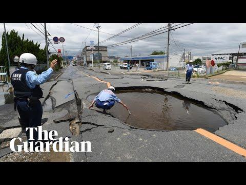 Osaka hit by 6.1magnitude earthquake during rush hour