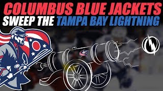 Blue Jackets Sweep the Tampa Bay Lightning!