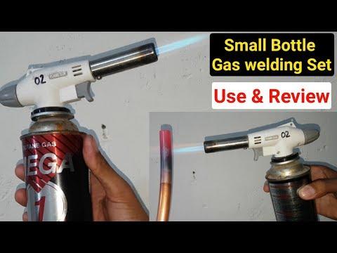 Mini Gas Welding Spray Bottle Review & Unboxing 2019 in Hindi/Urdu