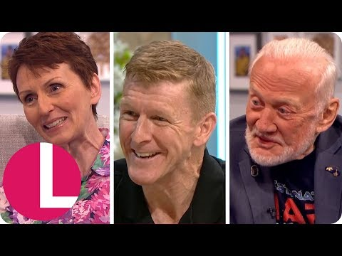 Buzz Aldrin, Tim Peake, Helen Sharman And More Interviews With Astronauts | Lorraine