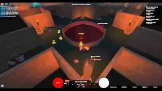 My First Video ! Playing Dungeon Delver on Roblox
