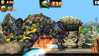 Super Riders Zombies Completing Mission Golden Bombs In Zombie Tsunami