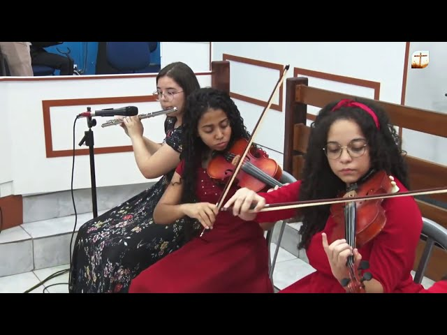 Se Cristo Comigo Vai   Orquestra   Tabernáculo da Fé Campinas/SP.