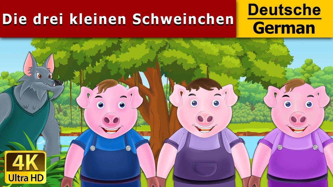 Die Drei Kleinen Schweinchen Kurzfassung