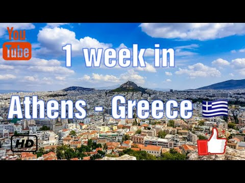 1 week in Athens - Greece 🇬🇷
