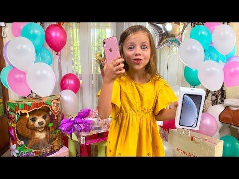 Подарки на мой День рождения Iphone XR Куклы и новый питомец
