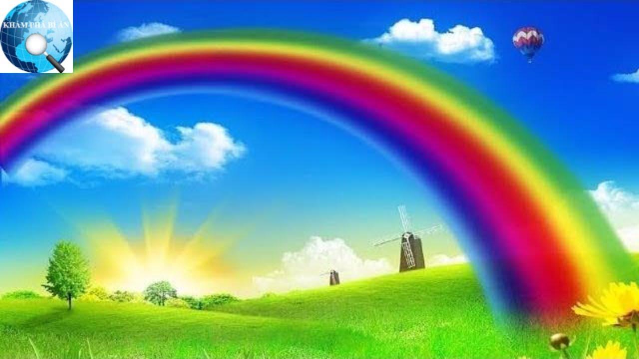 Câu hỏi muôn thủa: Tại sao cầu vồng chỉ xuất hiện sau cơn mưa và vỏn vẹn 7  màu?
