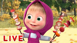 🔴 LIVE STREAM 🎬Masha and the Bear 👨‍👩‍👧‍👦Cartoons for the whole family ✨