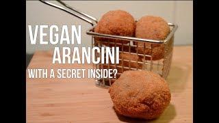 VEGAN Italian Arancini (Fried Risotto Balls)