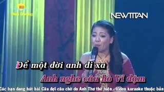 [DVD Karaoke] Câu đợi câu chờ - Anh Thơ HD