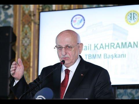 TBMM başkanı Kahraman: laiklik yeni anayasa'da olmamalıdır