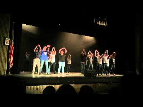 Fallston high school teacher dance 2016