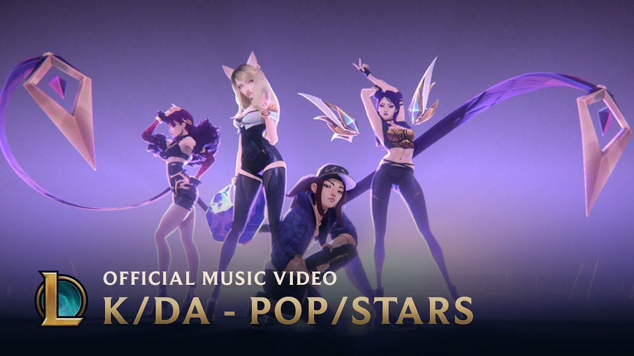 K/DA - POP/STARS (ft Madison Beer, (G)I-DLE, Jaira Burns) | Official Music Video - League of Legends - YouTube