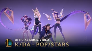 kda popstars ft madison beer g i dle jaira burns official music video league of legends