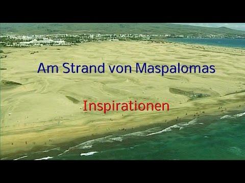 Am Strand von Maspalomas -  Inspirationen