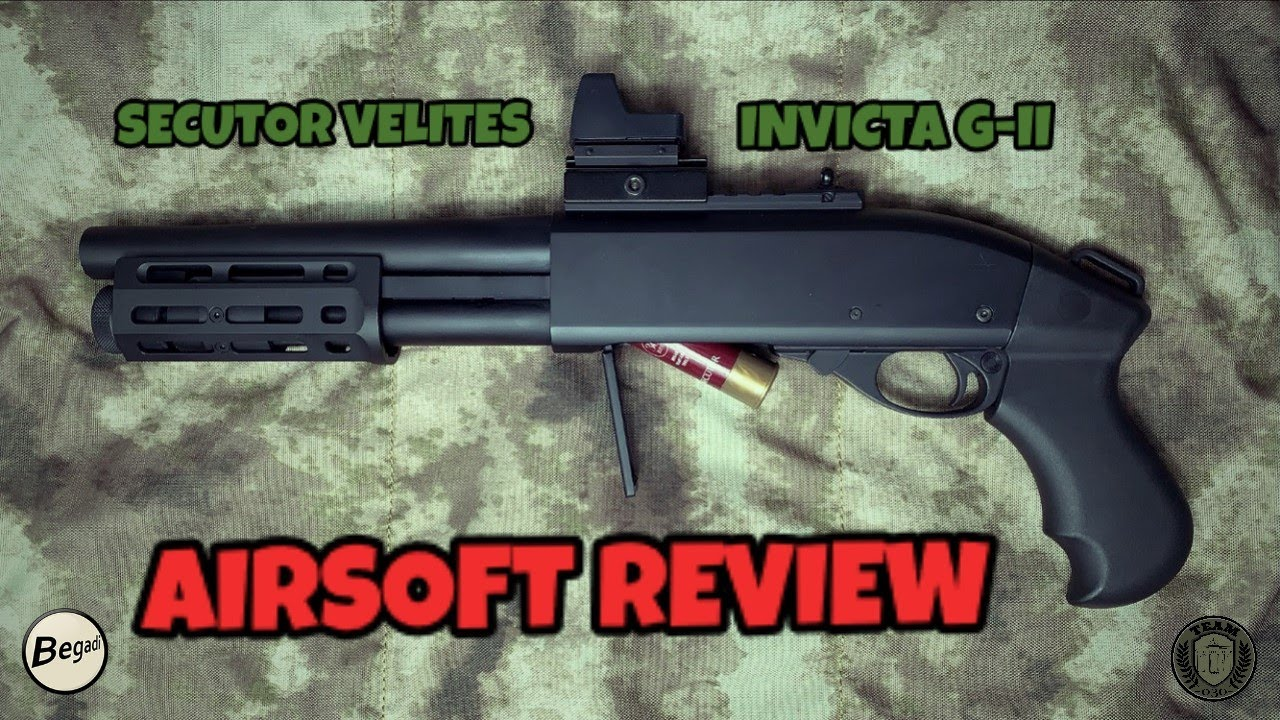 [REVIEW] SECUTOR VELITES INVICTA G-II Gas Shotgun