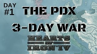 HoI4 - The Three Day War - Day 1 of 3