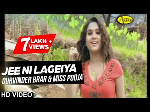 Gurvinder Brar ll Miss Pooja || Jee Ni Lageiya || New Punjabi Song 2017 || Anand Music