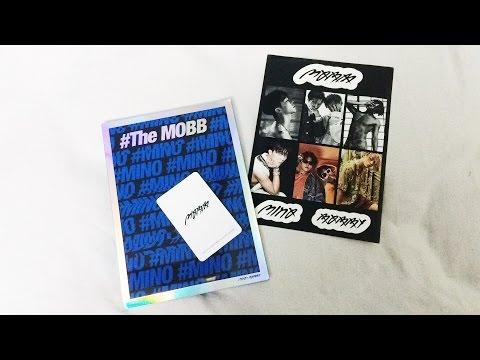 UNBOXING MOBB Mini Album (MINO Version)