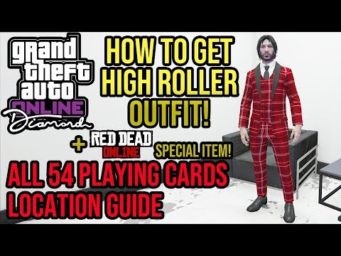 Gta Online All 54 Hidden Playing Cards Location Guide High Roller Outfit Red Dead Item