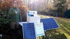 Aurinkosähköjärjestelmällä lisämukavuutta kesämökille