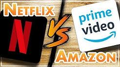 Bester Streamingdienst 📺 Netflix versus Amazon Video