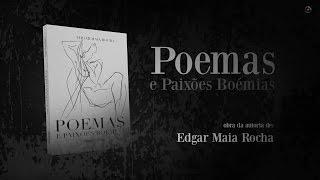 capa de Poemas e Paixões Boémias de Edgar Maia Rocha
