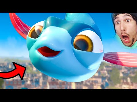 LA STRANA VITA del PESCE VOLANTE?!   I AM FISH #3