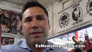 oscar de la hoya on who he would want marcos maidana to fight next  EsNews