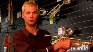 How to Play the Flute, Trombone & Trumpet : Name the Parts of a Trumpet